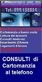 CARTOMANZIA AL TELEFONO - CARTOMANTI LETTURA TAROCCHI e incantesimi d'amore